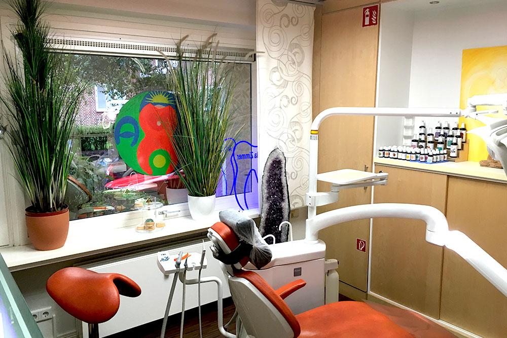 Behandlungsraum Praxis Dr. Zimmer